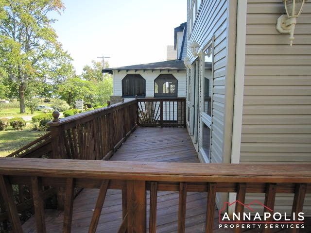 Front deck and porch