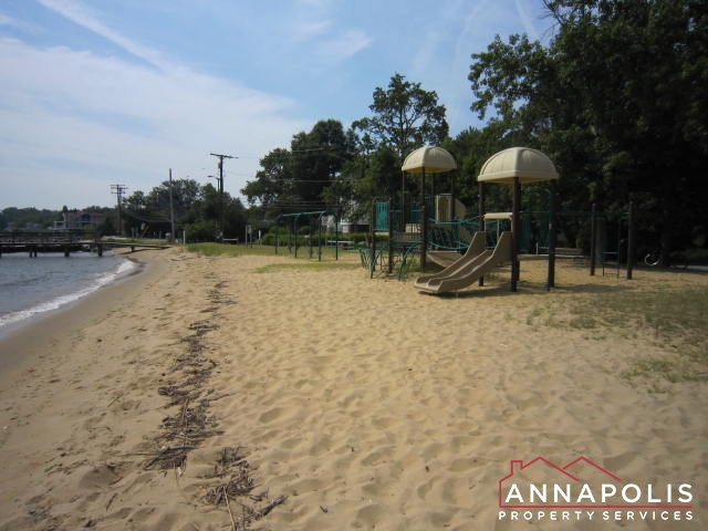 Beach play area