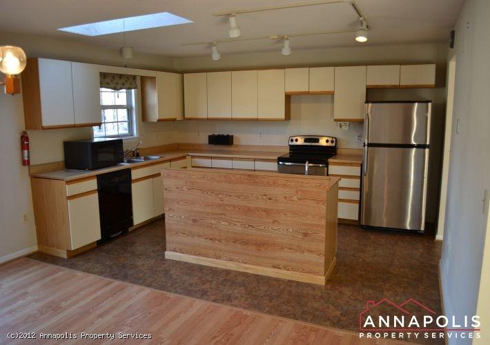 Kitchen with island
