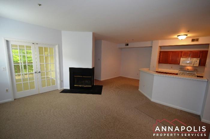 30E Sandstone Court-Kitchen and living.JPG